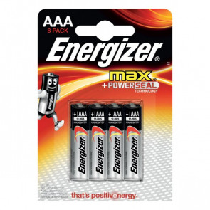 Energizer Max+ Power Energizer - ministilo - AAA - E300112100 (conf.8)