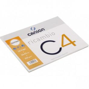 Ricambi per album da disegno C4 Super in PPL Canson - ricambi - ruvido - 224g/m