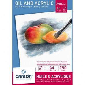 Blocchi per olio e acrilico Canson - A4 - 200005785