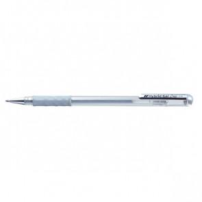 Roller gel Hybrid grip Pentel - argento - K118-Z