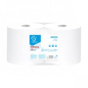 Bobina Asciugatutto industriali in pura cellulosa Papernet - 2 veli - 760 strappi - 402059 (conf.2)
