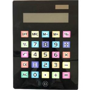 Calcolatrice grande con tasti colorati. Dim.18x23 - Magistris-