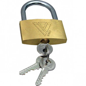 Lucchetti con chiave Viso - 25x40x9 mm - CAD 401 SB