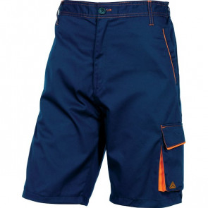 Bermuda da lavoro Delta Plus - blu/arancione - L - M6BERBMGT