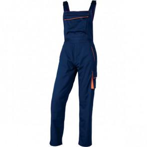 Salopette da lavoro Delta Plus - blu/arancione - L - M6SALBMGT