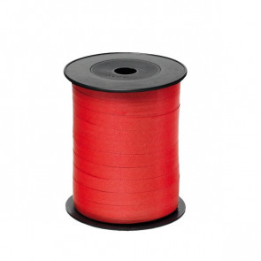 Nastro in rocchetto per regali Brizzolari liscio 10 mm x 250 m B.3 (ROSSO) (conf.4)