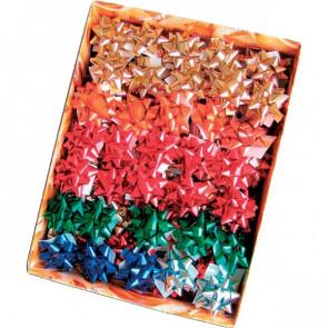 Stelle adesive per pacchi regalo Brizzolari Nastro tinta unita metalliz. 50 mm 3070 (conf.100)