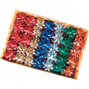 Stelle adesive per pacchi regalo Brizzolari Nastro tinta unita metalliz.- 65 mm 3170 (conf.100)