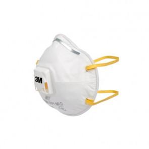 Maschera facciale monouso Moulded 3M con valvola FFP1 Conf. 10 pezzi - 8812