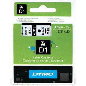 Nastri Dymo D1 9 mm x 7 m nero/bianco S0720680 (ex 40913)