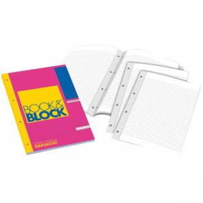 Blocchi collati rinforzati Book&Block Blasetti - A4 - 1R - 40 - 5722 (conf.5)