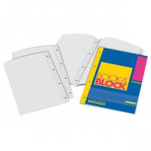 Blocchi collati rinforzati Book&Block Blasetti - A4 - 4 mm - 40 - 5721 (conf.5)