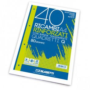 Ricambi rinforzati Blasetti - A4 - 4 mm - 2333 (conf.40)