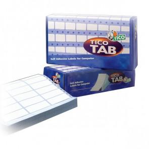 Etichette modulo continuo Tico 1 pista 72x23,5 mm 12 et/ff TAB1-0722 (conf.500)