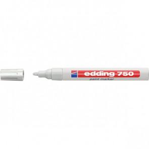 Marcatore permanente a vernice Edding bianco tonda 2-4 mm 750 049