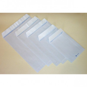 Buste a sacco con strip Pigna bianco 19x26 cm 80 g/mq strip 0654564 (conf.20)