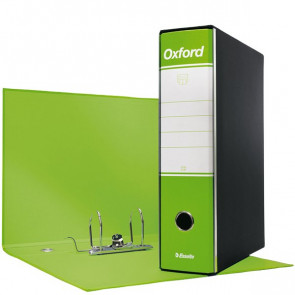 Registratori Oxford Esselte protocollo 8 cm 23x33 cm Verde Lime 390785600