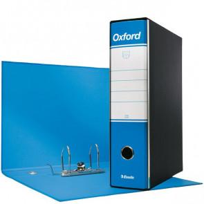Registratori Oxford Esselte protocollo 8 cm 23x33 cm Azzurro 390785800