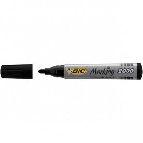 Permanent Marker 2000 Bic nero tonda 2,5 mm 8209153 (conf.12)