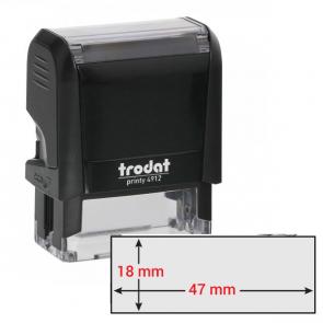 Timbro Original Printy 4.0 4912 47x18mm 5righe autoinch. personalizzabile TRODAT