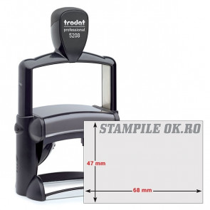 Timbro Professional 5208 68x47mm 12righe personaliz autoinch. TRODAT
