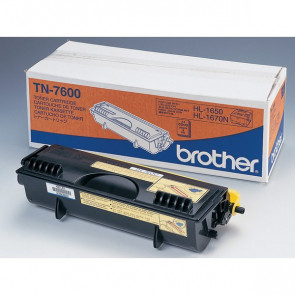 Originale Brother TN-7600 Toner alta resa SERIE 7000 nero