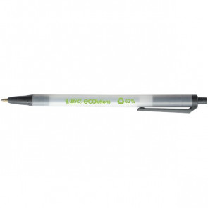 Penna a sfera a scatto Bic® ECOlutions™ Clic nero 1 mm 8806871