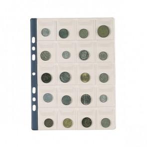 Buste portamonete Favorit 20 tasche 20 numismatica 22,5x30 cm trasparente 02666001 (conf.10)