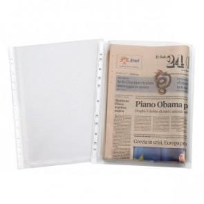 Buste con soffietto alta capacità Elba- 21x29,7 cm trasparente 2086-08 (conf.10)
