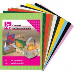 Cartone Ondulato Cannetè CWR 50x70 cm Assortiti 2205 (conf.10)