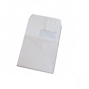 Buste a sacco con strip Pigna con finestra 5,5x11,0 23x33 cm 100 gr/mq. strip- 948/0054393 (conf.500)