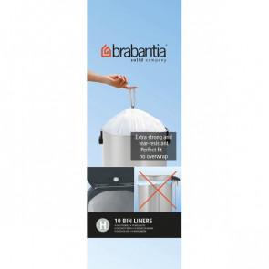 Sacchetti con manici Brabantia 50 l bianco 246784 (conf.10)