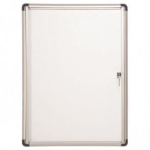 Bacheca magnetica Bi-Office Enclore Budget con cornice in alluminio 9xA4 VT630109660