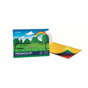 Album da disegno FAVINI PRISMACOLOR in cartoncino monoruvido 5 colori assortiti 128 g/m² 24x33cm - A12X244