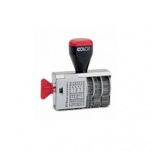 Timbro DATARIO + POLINOMIO 04000WD 12 diciture 4mm COLOP