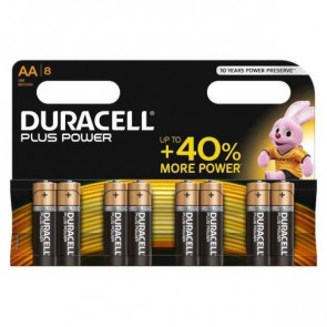 Batterie alcaline Duracell Plus Power Stilo 1500 mAh AA conf. da 8 - DU0110