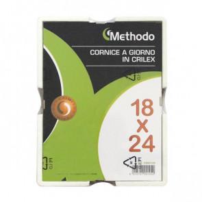 METHODO CORNICE A GIORNO 24X30CM IN CRILEX