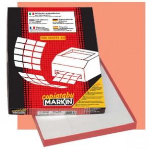 Etichetta adesiva A/475 bianca 100fg A4 199,6x289,1mm (1et/fg) Markin