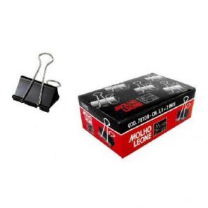 Molle Double Click Q-Connect Foldback nero 32 mm conf. da 10 - KF01284