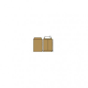 Buste a sacco con soffietto Pigna Envelopes Multi Strip Extra 30+4 x 40 cm avana Conf. 250 pezzi - 0208888