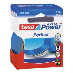 Tesa Nastro Adesivo Telato 38Mmx2,7Mt Blu 56343 Xp Perfect
