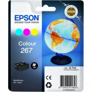 Originale Epson C13T26704010 Cartuccia inkjet blister RS 267 3 colori 3 colori