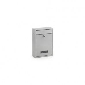 Cassetta portalettere in acciaio 215x320x82 mm 3445