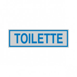 Cartelli segnaletici adesivi Cartelli Segnalatori - 165x50 mm - toilette - 96662 (conf.10)