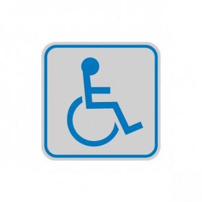 Cartelli segnaletici adesivi Cartelli Segnalatori - 165x50 mm - disabili - 9653B (conf.10)