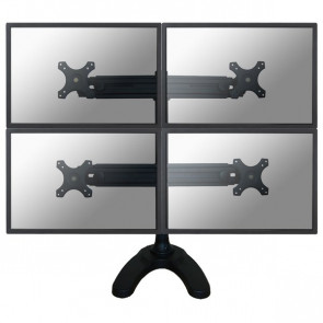 """Supporto da scrivania 4 monitor LCD/LED/TFT fino a 30"""" Newstar - FPMA-D700DD4"""