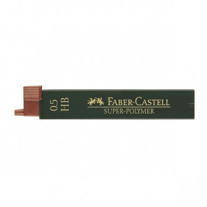 Mine SUPERPOLYMER Faber Castell - 0,5 mm - HB - 120500 (conf.12)