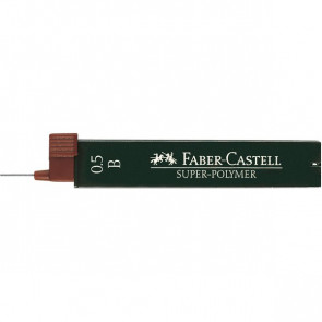 Mine SUPERPOLYMER Faber Castell - 0,5 mm - B - 120501 (conf.12)