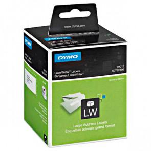 Etichette per Dymo LabelWriter permanenti 89x36 mm bianco S0722400 (conf.2x260)(ex 99012)