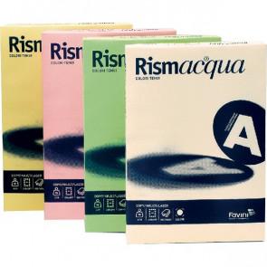 Cartoncino colorato Rismacqua Favini A4 200 g/mq assortiti 5 colori A67X124 (risma125)